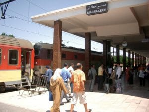 marrakech train station