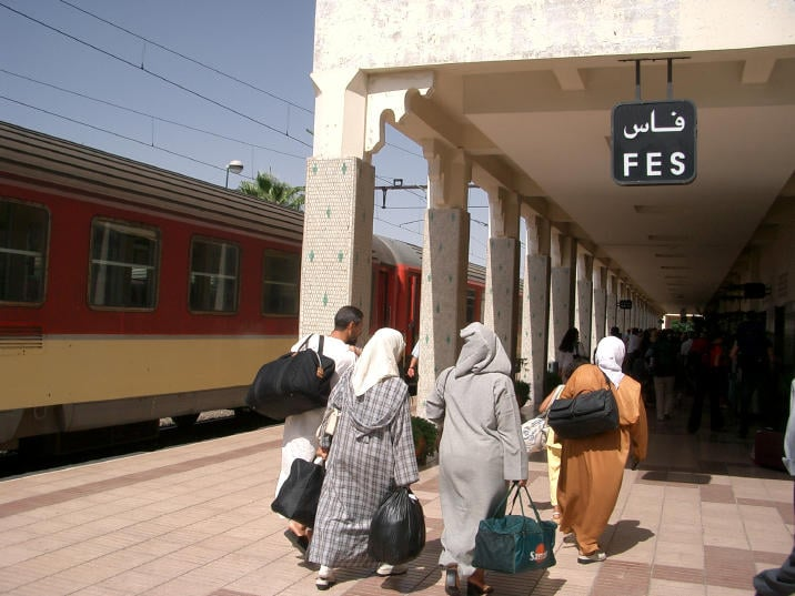 Fes Morocco Train Station