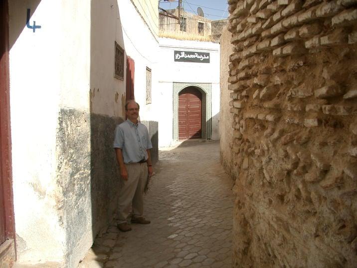 Steve in old medina