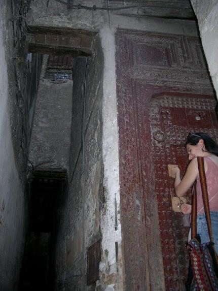 Miriam's front door
