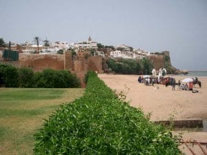 Old Rabat and beach