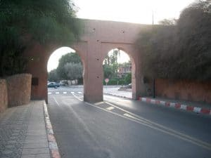 Entrance to the old Medina, looking out.
