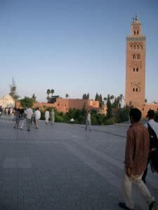 This mosque could easily be seen from most places in the Medina and was a good reference point.