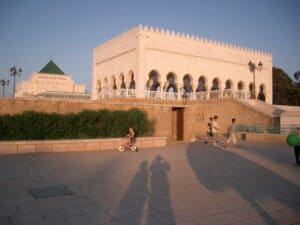 Mausoleum of Kings Hassan II and his father, King Mohamed V