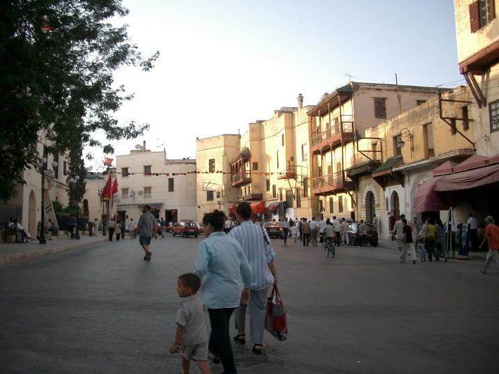 street outside medina