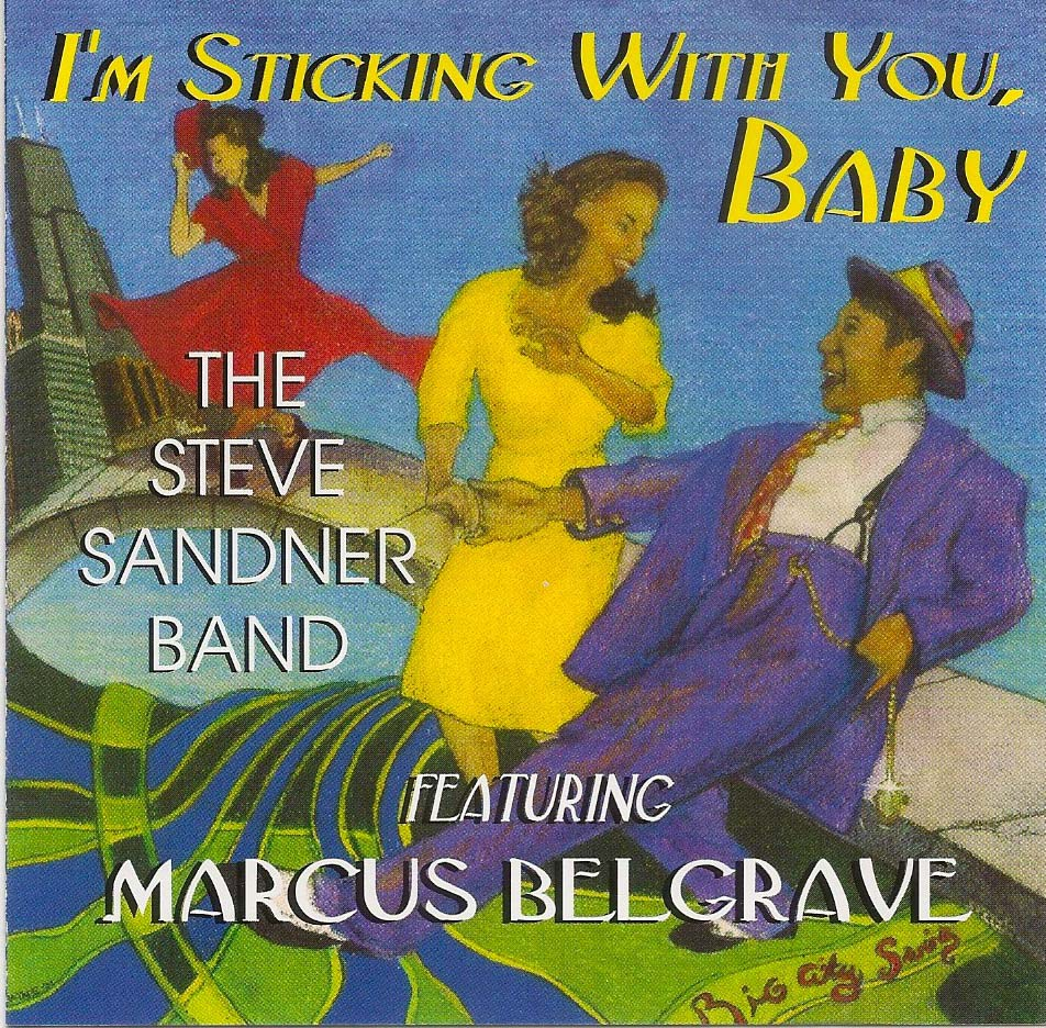 Stickin with You CD Cover